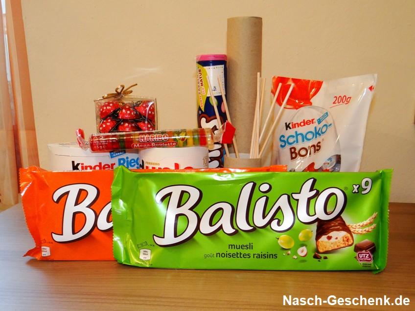 Bunte Sammlung an Süßigkeiten